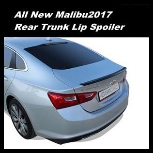 Aero Part Rear Trunk Lip Spoiler Wing 3 Color For All New Malibu 2017
